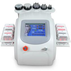 装置650nm Lipoレーザーの脂肪分解の真空40Kの超音波キャビテーションRF装置を細くするLipolaser