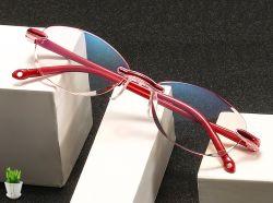 Óculos de leitura sem rebordo estrutura inteligente óculos de leitura