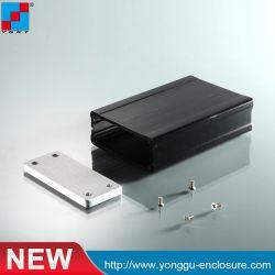 Cassa di alluminio dell'amplificatore del dissipatore di calore di allegato di Ygw-004 66.2*27.5-100 millimetro (WxH-L)