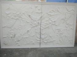 Pop design européen Grc ignifugé de ciment Mur de l'allégement de la Sculpture