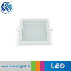 Aluminium en glas, vierkant, SMD, 15W, LED-lamp