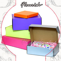 음식 음료 출하 판지 상자가 물결 모양 상자 선물 포장 상자 인쇄 떨어져 Foldable 중국 직접 공장에 의하여 구두를 신긴다