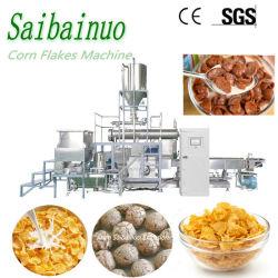 إن الكرات الكرو من نوع تشوكو الصناعية الآلية كريسبي حلو تخرج حلقات الفاكهة وجبات خفيفة من رقائق الغذاء خط الإنتاج الإفطار الحبوب رقائق الذرة صنع الماكينة