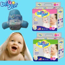 2017 Heet verkoop de Goedkope Luier van de Baby van de Eenheid van de Absorptie van de Prijs van de Fabriek Hoge Beschikbare viersterren