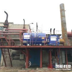 3t chaudière à vapeur des gaz d'échappement du générateur de vapeur pour l'usine Texitile Packistan