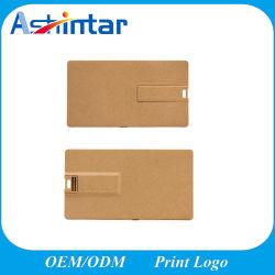 Azionamento dell'istantaneo del USB della carta di credito del disco istantaneo del USB del materiale di Eco-Freindly del bastone di memoria del USB della scheda di nome