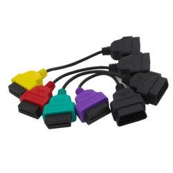 Kabel-Verbinder-Diagnosehilfsmittel des FIAT-elektronisches Bediengeraet Scan-OBD2