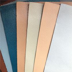 تأثير تغيير الألوان عالي الجودة، جلد صناعي PU لصناعة تصحيح PU
