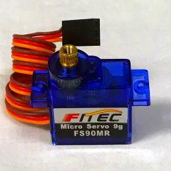 As engrenagens de Metal Analógico Feetech 9g Micro 360 Graus de rotação contínua do servofreio