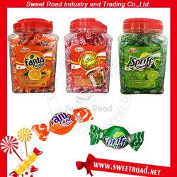 Fornitore dolce di vendita della cola della frutta Assorted confetteria calda & della caramella dura di figura rotonda di Fanta