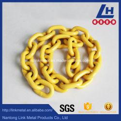 С пластиковым покрытием G80 сплава цепь грузоподъемных цепей