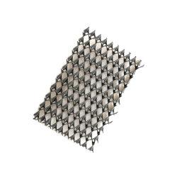 80mm de altura cantos de PVC Geocell la línea de producción utilizados para el plástico reciclado adoquines