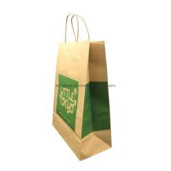 Il documento riciclato stampato su ordinazione della drogheria del regalo del panno del campione libero della fabbrica trasporta il sacchetto