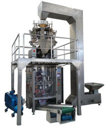 Ligne d'emballage alimentaire VFFS de pesage (DXD-500)