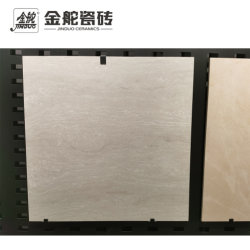 600X600 Foshan 회색 선 돌 Polished 구체적인 사기그릇 지면 도와