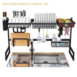 ホーム台所スパイスの鉄のクロム版2層の香辛料用の棚