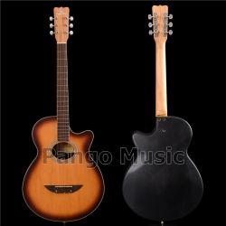 Pango 음악 새로운 디자인 둥근 뒤 음향 기타 (PNT-170)