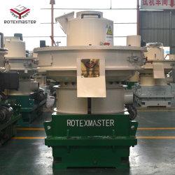 Marca Rotexmaster Ygkj700 2-3T/H 160kw Motoer refrigeración de aceite y lubricación automática caja de transmisión peletizadora de madera