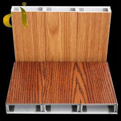 Le bois en acier inoxydable Cuivre Zinc panneau composite aluminium pour mur rideau métallique Matériaux de construction