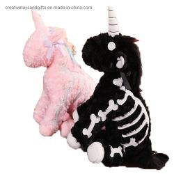 Nieuwe populaire Unicorn gevulde zachte pluche rugzak speelgoed