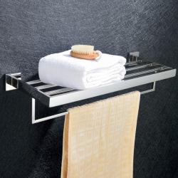 De eenvoudige Hardware van de Badkamers van de Houder van 304 van het Roestvrij staal van de Badkamers van de Handdoek van het Rek van de Badkamers Hangende van de Handdoek van het Rek Enige Staven van de Handdoek