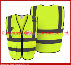 공장 도매 100% 높은 시정 사려깊은 안전 의류 (W381)