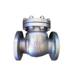 La norme ANSI vissé en acier moulé du clapet antiretour de pivotement de capot avant
