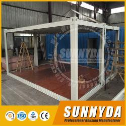 Portátiles móviles prefabricados modulares prefabricadas de acero de la luz de la casa de contenedores