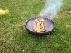 """Сад для использования вне помещений металлические утюг стальной чашу Firepit """"кортен"""" для использования вне помещений отопления природным ржавеет Fire смолой"""
