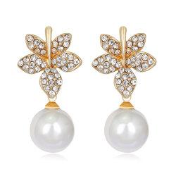 Modeschmuck Accessoires Wedding Ohrringe Mode Damen Ohrringe Mit Glasperlen