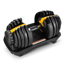 Ginástica ajustável haltere equipamento para treino de força do corpo