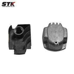 クロムめっきされた部品(STK-SSC-003)と押す良質の顧客用金属