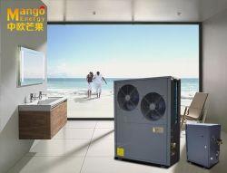 Lavoro aria-acqua della pompa termica di Evi di spaccatura a basso rumore e dell'alta spola al grado -25