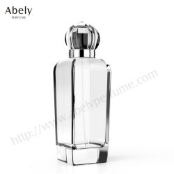 Weiß/Brown/blaue/grüne Duftstoff-Flaschenglas-Flasche mit Schutzkappe