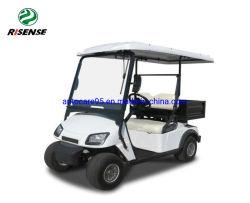 Neues Modell 2 Seater elektrisches Golf-Auto mit großen Speicherfächern
