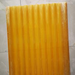 투명한 FRP 섬유유리 물결 모양 루핑 장