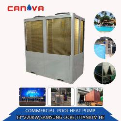 ステンレス鋼13.5kw-220kwの大きいホテルの使用のプールの給湯装置装置の工場