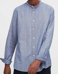 Garens geverfd katoenen linnen voor shirt