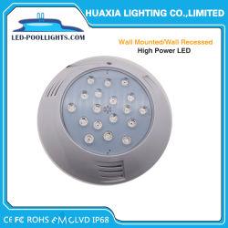 54W parede cheia de resina de Elevada Potência RGB LED desligar luz Piscina debaixo de água