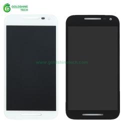 Comercio al por mayor pantalla LCD XT1540 XT1543 Blanco/Negro para el Motorola Moto G3