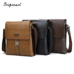 Nuovo sacchetto speciale del messaggero degli uomini del cuoio della cartella del sacchetto di spalla di polo