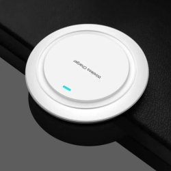 Coffre-fort de haute qualité Ultra Light 9V Chargeur rapide sans fil pour Apple Samsung Huawei HTC Nokia Chargeur rapide pour iPhone 8 Plus X 8