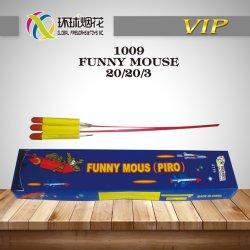 giocattoli esterni 1.4G Un0336 Fuegos Arfificiales del Rocket del mouse 1009-Funny che fischia i fuochi d'artificio del Rocket