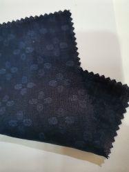 Tecido de linho impresso de moda para vestuário elegante com alta qualidade