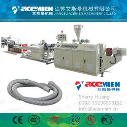 大きい直径PVC PE PPのプラスチック波形の管の放出装置機械プラント