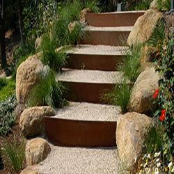 Fronteira de jardim de metal/Engenharia de Jardim