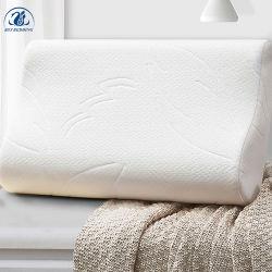 Comercio al por mayor calidad almohadas almohadas de espuma de memoria principal con funda de almohada de tela de flujo de aire