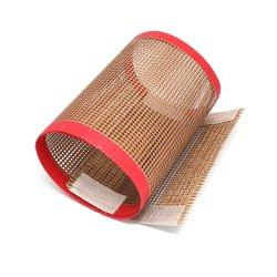 Alta calidad de la malla de fibra de vidrio recubiertas de PTFE cinta transportadora
