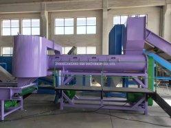 Verwendetes Plastikflaschenreinigung-Haustier, das Maschine für Polyester-Faser aufbereitet