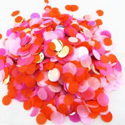 Biodegradáveis Ecológica Confete Confete redondas coloridas